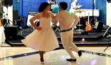 оригинальный русский свадебный танец