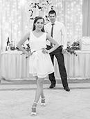 первый танец молодоженов