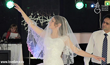 медленный свадебный танец жениха и невесты