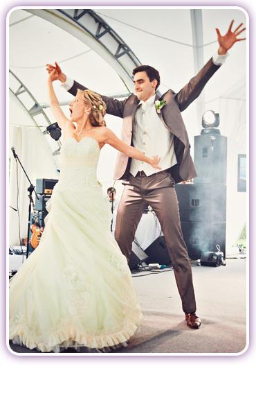 оригинальный свадебный танец молодых