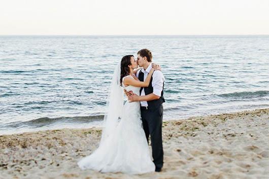 свадебный танец на пляже