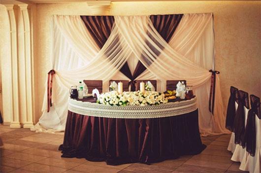 свадьба в цвете айвори и шоколад