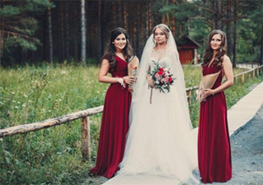 свадьба в цвете айвори и марсала