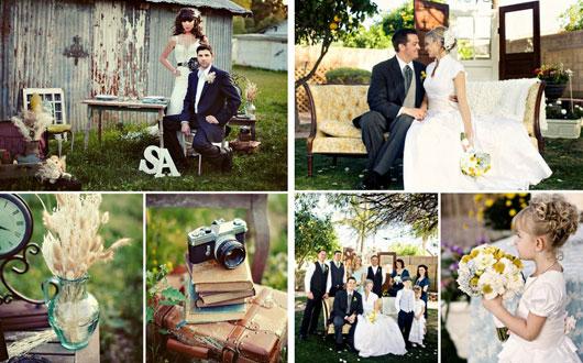 свадьба в ретро стиле оформление