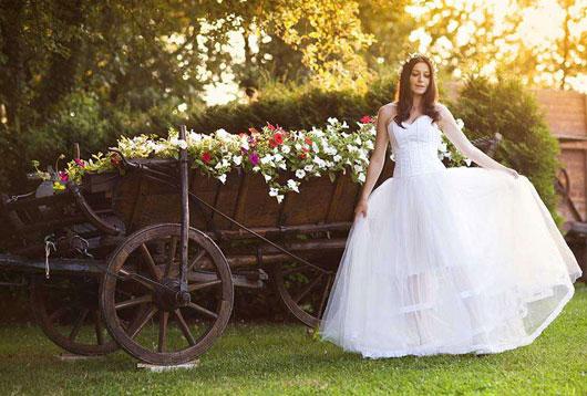 свадебное платье в стиле прованс дешево