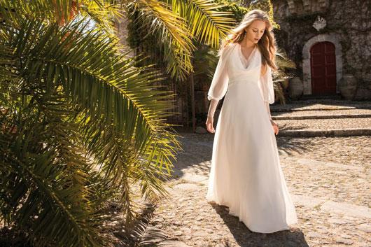 дорогое свадебное платье в стиле прованс
