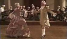 свадебный танец менуэт